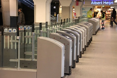 ticket barriers amsterdam