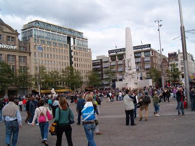 The Dam Square Is The Heart Of Amsterdam