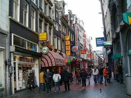 ahopping in Nieuwendijk Amsterdam
