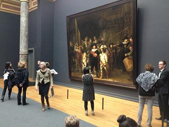 Nightwatch of Rembrandt