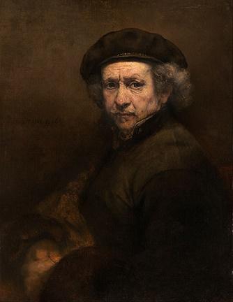 Rembrandt (1606–1669) self-portrait