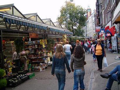 Flower market Amsterdam