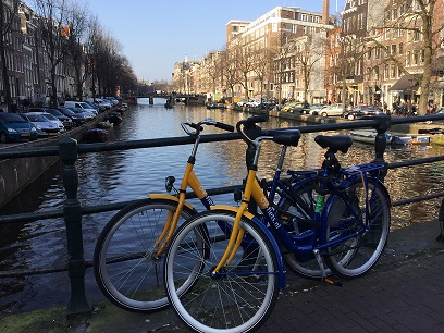 ov bicycles at the canal
